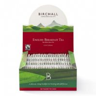 Birchall English Breakfast Tea (100 Tagged Tea Bags)